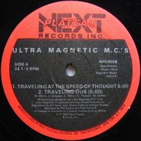 ULTRAMAGNETIC M.C.'S / TRAVELING AT THE SPEED OF THOUGHT