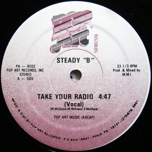 Steady B Take Your Radio