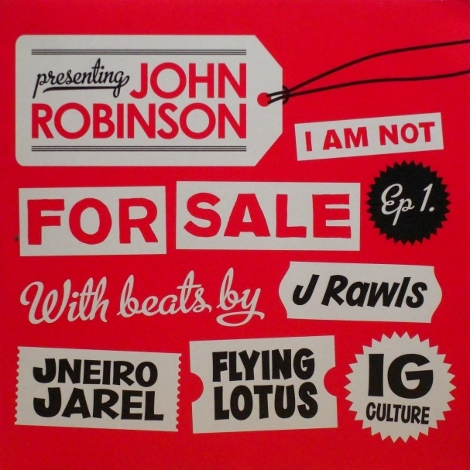john robinson i am not for sale ep 1 two three records