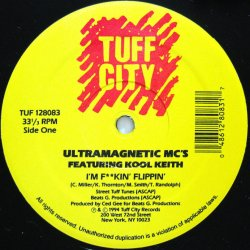 画像1: ULTRAMAGNETIC MC'S / I'M F**KIN' FLIPPIN'