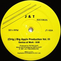 BIG APPLE PRODUCTION VOL. III