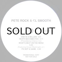 PETE ROCK & CL SMOOTH / ONE IN A MILLION