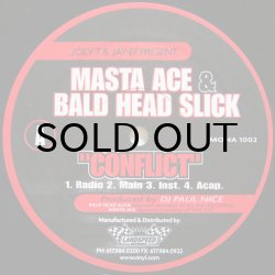 画像1: MASTA ACE & BALD HEAD SLICK / CONFLICT