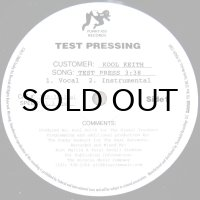 KOOL KEITH / TEST PRESS