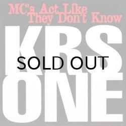 画像1: KRS-ONE / MC'S ACT LIKE THEY DON'T KNOW