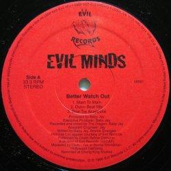 画像1: EVIL MINDS / BETTER WATCH OUT