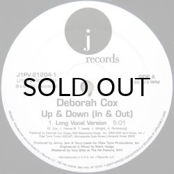 画像1: DEBORAH COX / UP & DOWN(IN & OUT)