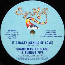 画像2: Grand Master Flash & Furious Five / It's Nasty (Genius Of Love)
