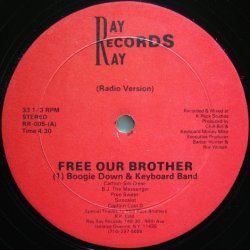 画像1: Boogie Down & Keyboard Band / Free Our Brother