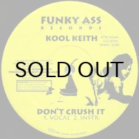 KOOL KEITH / DON'T CRUSH IT