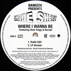 画像2: Shade Sheist / Where I Wanna Be