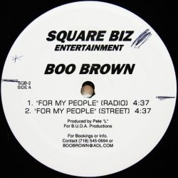 画像1: Boo Brown / For My People