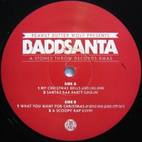 Peanut Butter Wolf Presents Baddsanta - A Stones Throw Records Xmas