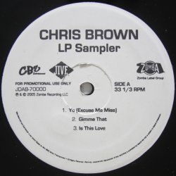 画像1: Chris Brown - LP Sampler