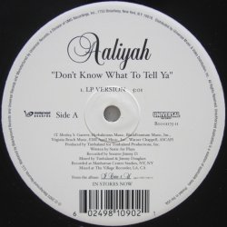 画像2: Aaliyah - Don't Know What To Tell Ya