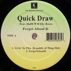 画像1: Quick Draw - Forget About It