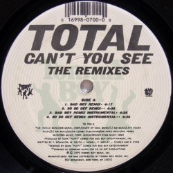 画像1: Total - Can't You See (The Remixes)