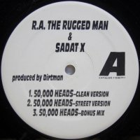 R.A. The Rugged Man & Sadat X ‎– 50,000 Heads