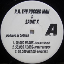 画像1: R.A. The Rugged Man & Sadat X ‎– 50,000 Heads