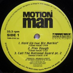 画像1: Motion Man - Hold Up feat. Biz Markie