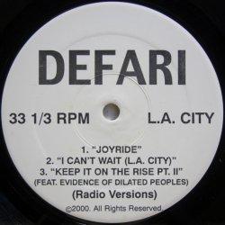画像1: Defari - Joyride