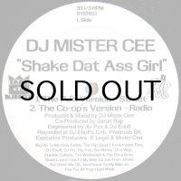 DJ MISTER CEE / SHAKE DAT ASS GIRL