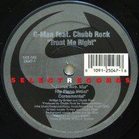 G-MAN feat. CHUBB ROCK / TREAT ME RIGHT