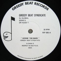 画像1: GREEDY BEAT SYNDICATE / KICKIN' THE BASS