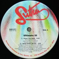 ULTIMATE III / I WANT YOU BACK