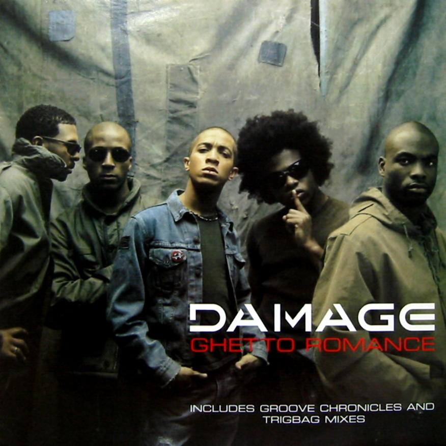 damage ghetto romance two three records